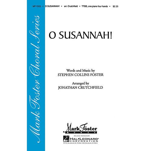 Shawnee Press O Susannah! TTBB arranged by Jonathan Crutchfield