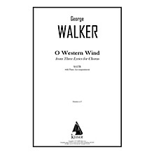 Lauren Keiser Music Publishing O Western Wind (from Three Lyrics for Chorus) SATB Composed by George Walker
