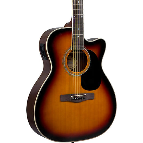 Mitchell O120CESB Auditorium Acoustic-Electric Guitar