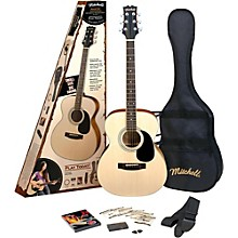 Mitchell O120SPK Acoustic Guitar Value Package