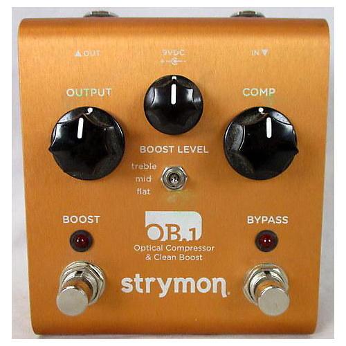 Strymon OB1 OPTICAL COMPRESSOR/ BOOST Effect Pedal
