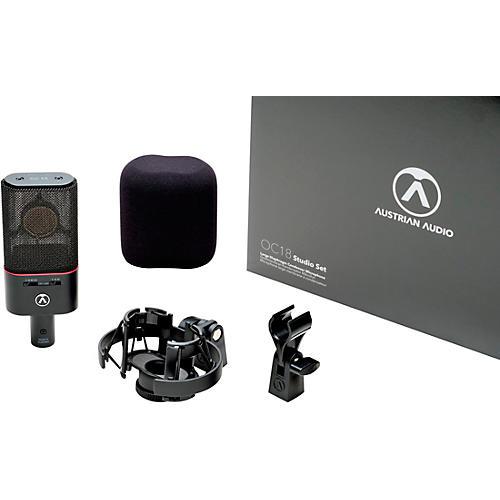 Austrian Audio OC18 Large-diaphragm Condenser Microphone - Studio Set
