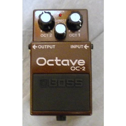 Boss OC2 Octave Brown Effect Pedal