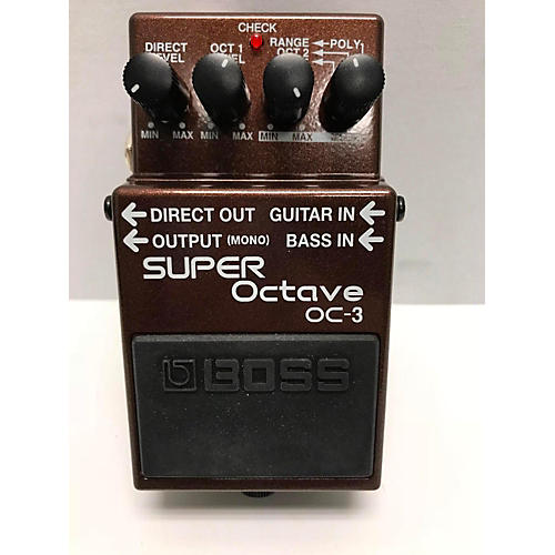 Boss OC-3 Dual Super Octave Pedal | Sweetwater