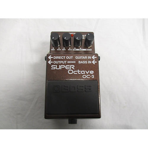 Boss OC-3 Super Octave Pedal | zZounds