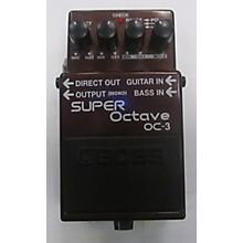 Boss OC3 Super Octave Effect Pedal