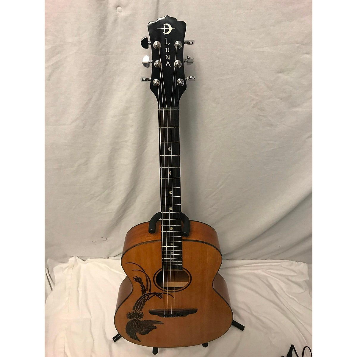 Luna Guitars OCLPHX Acoustic Electric Guitar