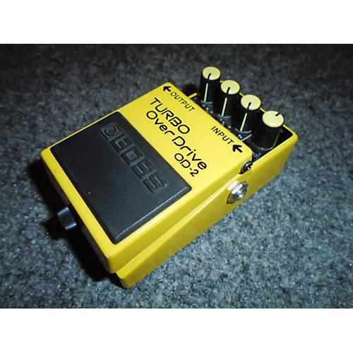 Boss OD2 Turbo Overdrive Effect Pedal