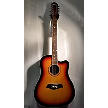 Oscar Schmidt OD312CE/TS 12 String Acoustic Electric Guitar