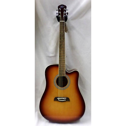 Oscar Schmidt OD45CTSPAK Acoustic Electric Guitar