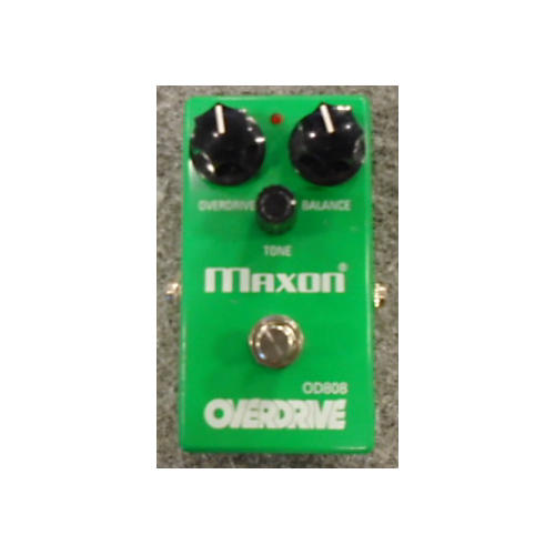 Maxon OD808 Overdrive Green Effect Pedal