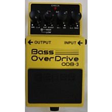 Boss ODB3 Bass Overdrive Bass Effect Pedal