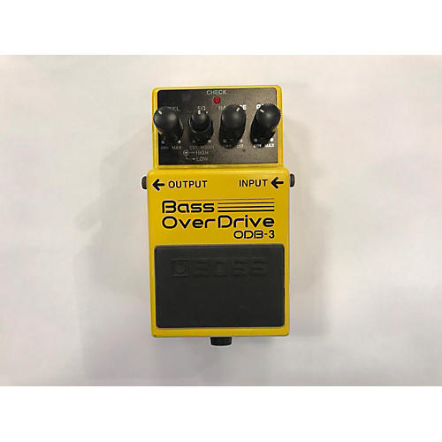 used boss odb3 bass overdrive bass effect pedal guitar center. Black Bedroom Furniture Sets. Home Design Ideas