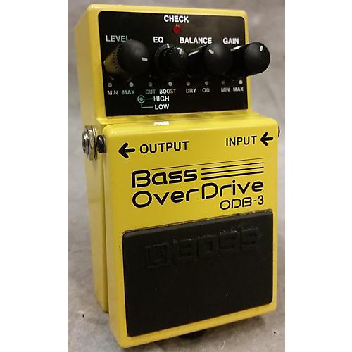 Boss ODB3 Overdrive Bass Effect Pedal