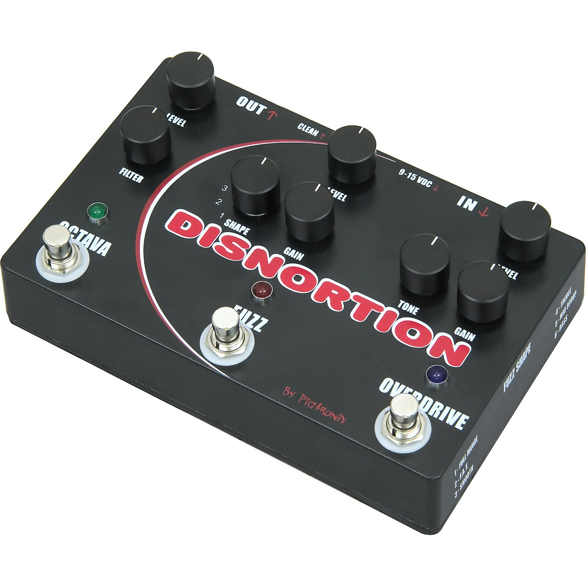 Pigtronix OFO Disnortion FX Pedal