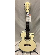 Oscar Schmidt OG10CEWH Acoustic Electric Guitar