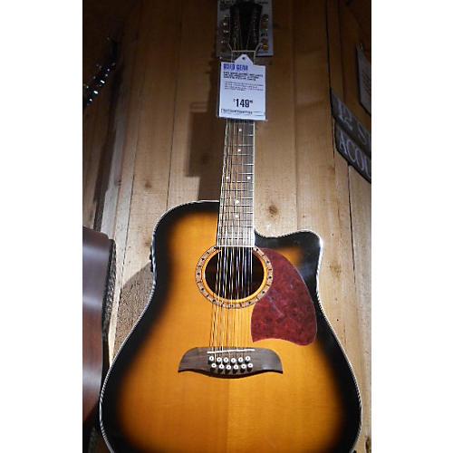 Oscar Schmidt OG312CETS 12 String Acoustic Electric Guitar