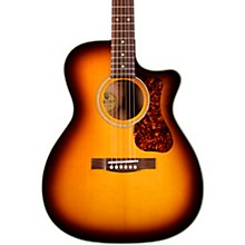 OM-140CE Westerly Collection Orchestra Acoustic-Electric Guitar Antique Burst