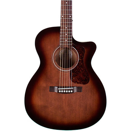 Guild OM-240CE Charcoal Burst Acoustic-Electric Guitar