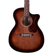 OM-240CE Orchestra Acoustic-Electric Guitar Level 2 Charcoal Burst 190839790392