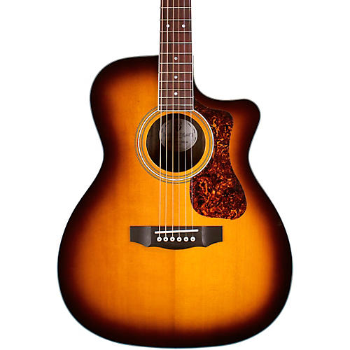 Guild OM-260CE Deluxe Orchestra Cutaway Acoustic-Electric Guitar