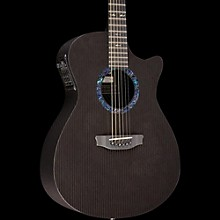 Rainsong OM1000N2 Classic Series Acoustic-Electric Guitar Black