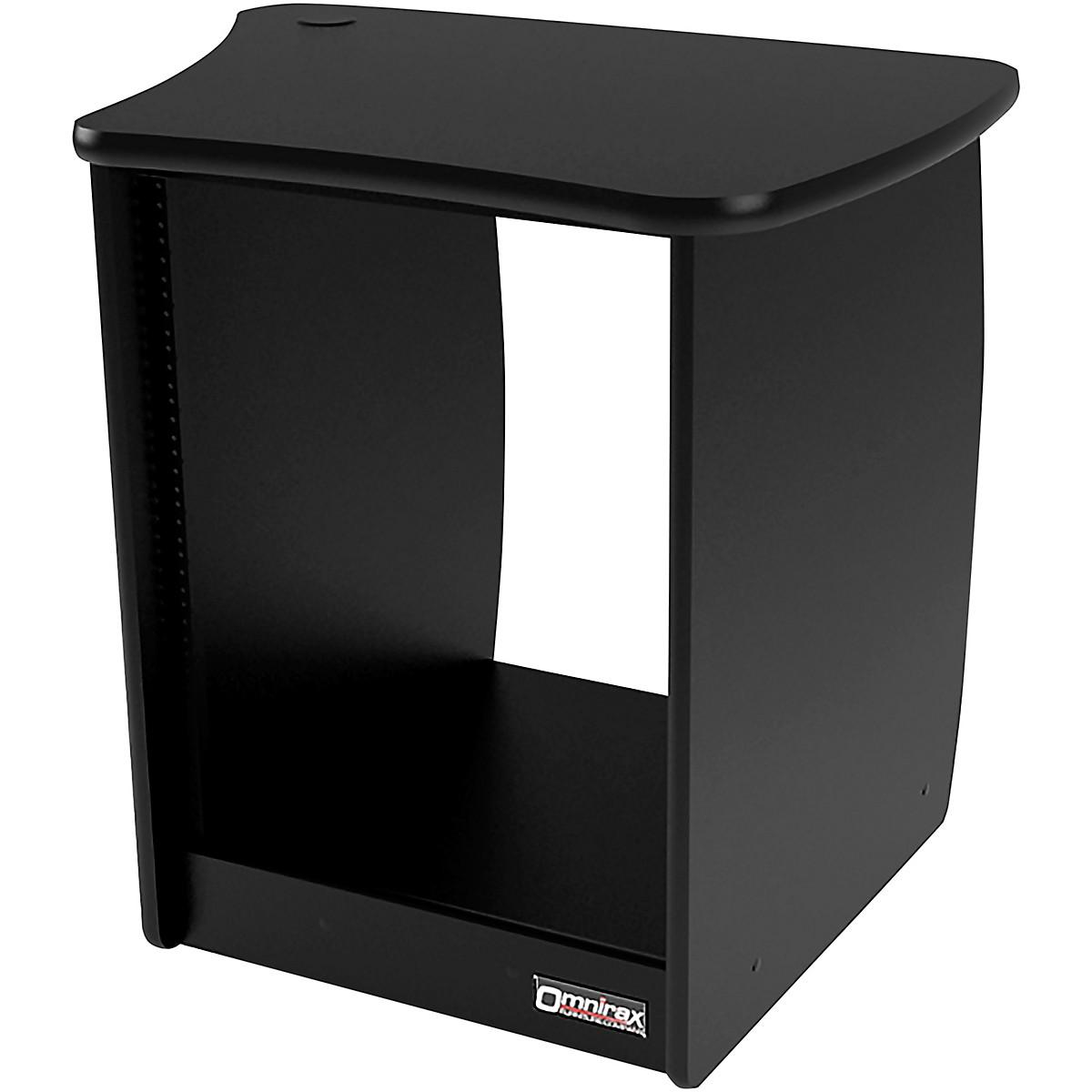 Omnirax OM13R 13-Rackspace Cabinet for the Right Side of the OmniDesk - Black