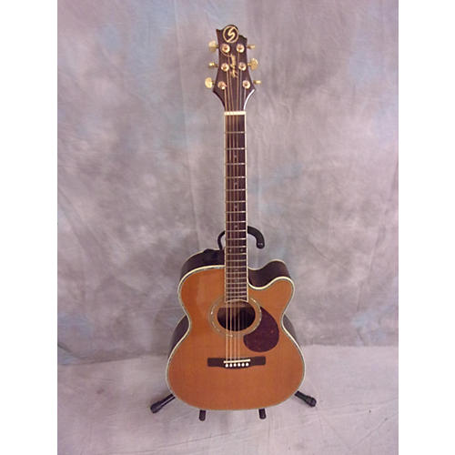 Used Samick Om8ce Acoustic Electric Guitar Guitar Center