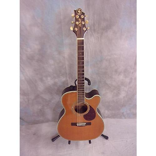 used samick om8ce acoustic electric guitar guitar center. Black Bedroom Furniture Sets. Home Design Ideas