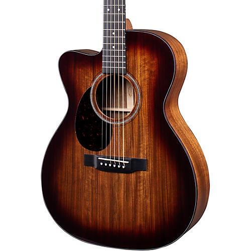 Martin OMC-16E 16 Series Ovangkol Burst Left-Handed Acoustic-Electric Guitar
