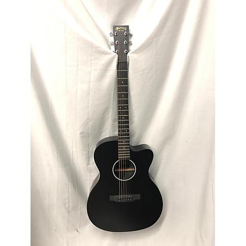 used martin omcx acoustic electric guitar black guitar center. Black Bedroom Furniture Sets. Home Design Ideas