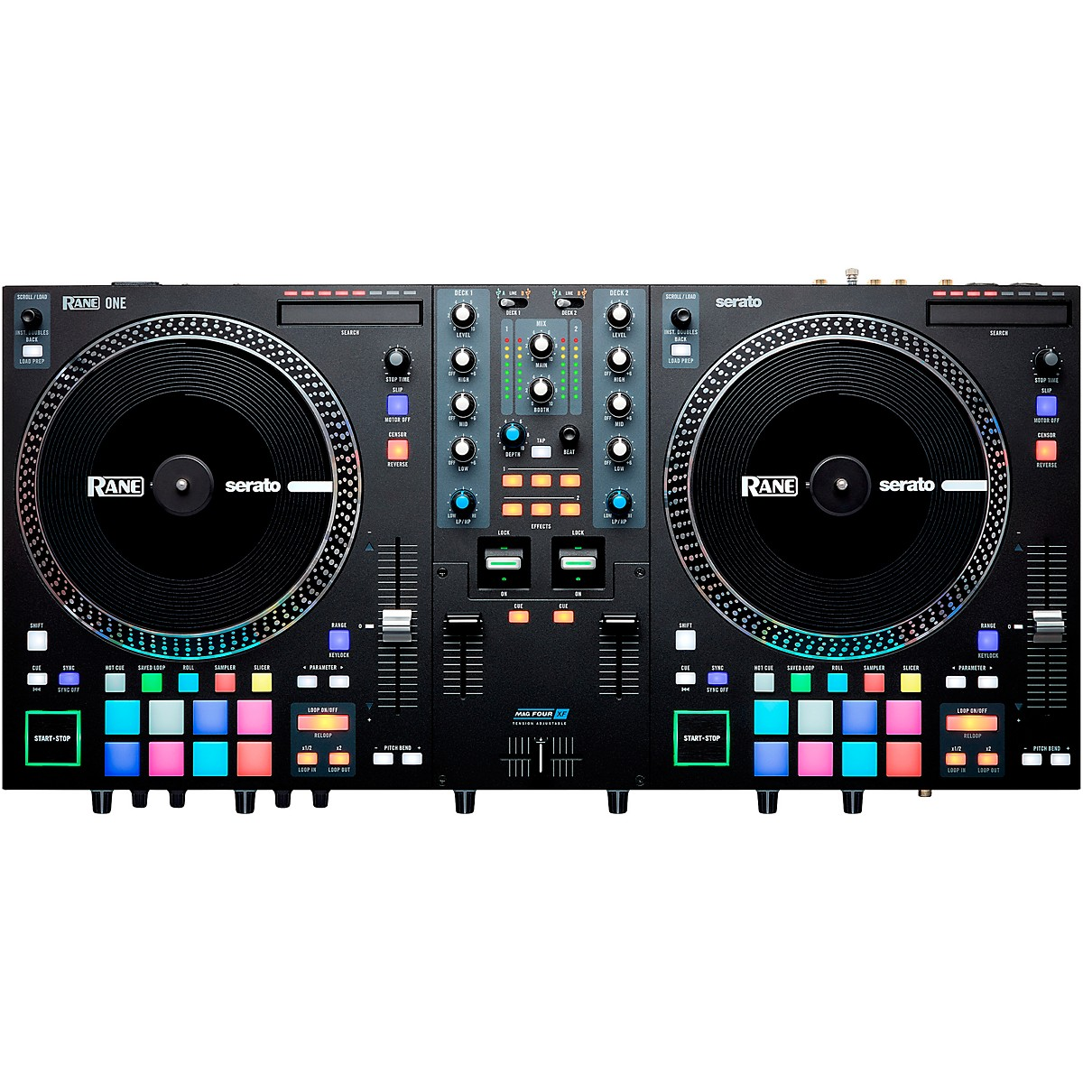 RANE DJ ONE Professional Motorized DJ Controller for Serato DJ Pro