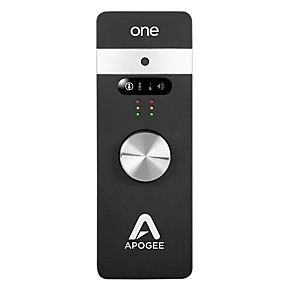 apogee one for ipad mac audio interface guitar center. Black Bedroom Furniture Sets. Home Design Ideas