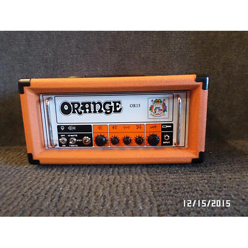 Orange Amplifiers OR-15 Tube Guitar Amp Head