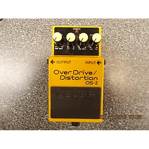 Boss OS2 Overdrive Distortion Effect Pedal