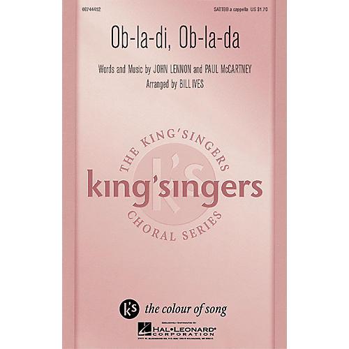 Hal Leonard Ob-La-Di, Ob-La-Da SATTBB A Cappella by The Beatles arranged by Bill Ives
