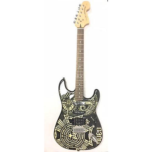Squier Obey Strat Solid Body Electric Guitar