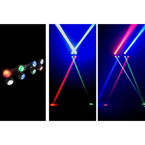 American DJ Octo Beam 8x 3W RGBW LED Linear Fixture