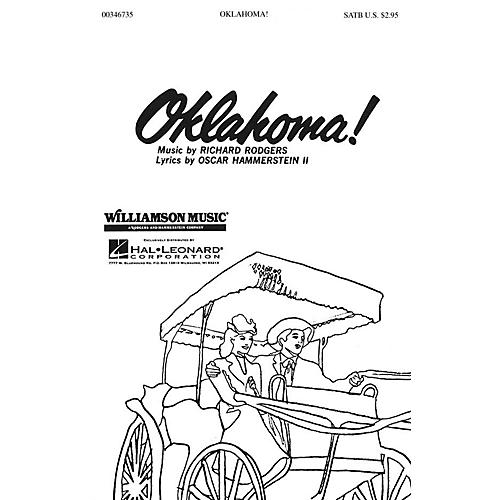 Hal Leonard Oklahoma Medley Satb Satb Arranged By Clay Warnick
