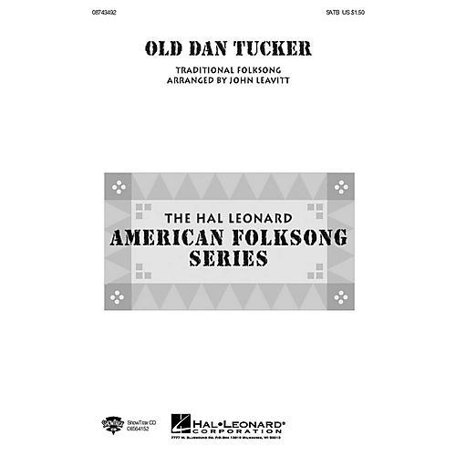 Hal Leonard Old Dan Tucker SSA Arranged by John Leavitt
