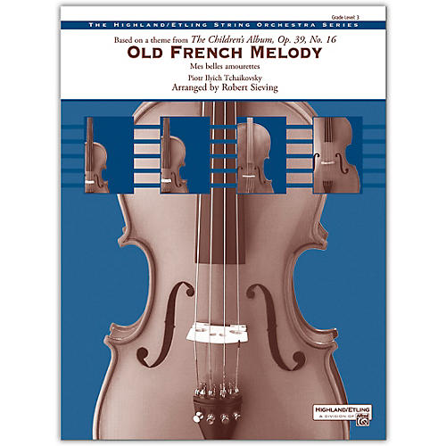 Alfred Old French Melody 3