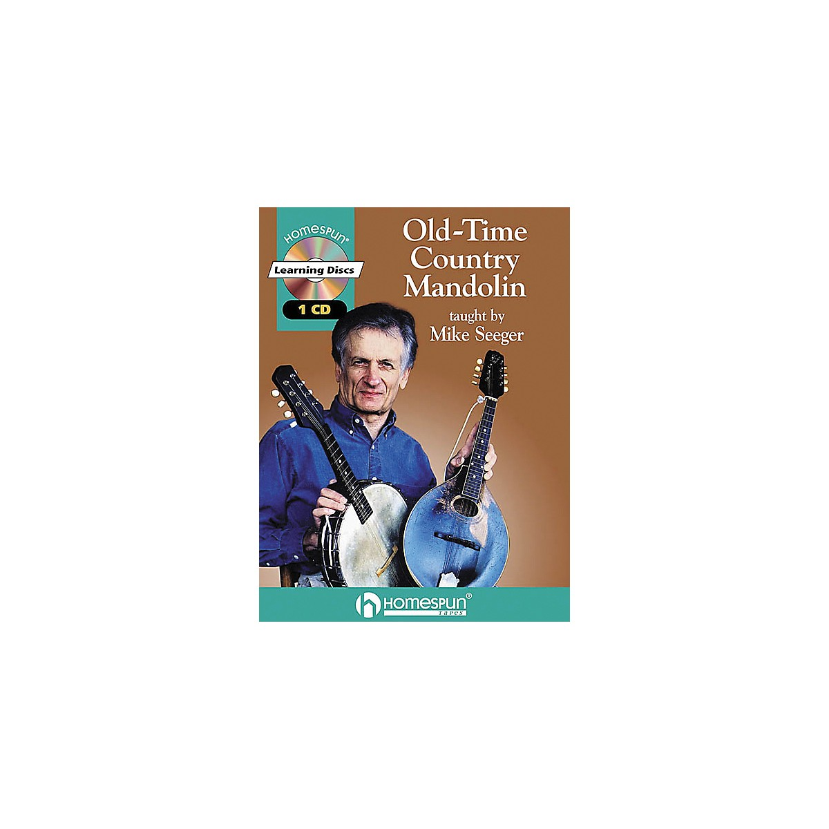 Homespun Old-Time Country Mandolin (Book/CD)