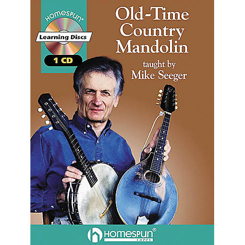 Homespun Old-Time Country Mandolin (Book/CD)