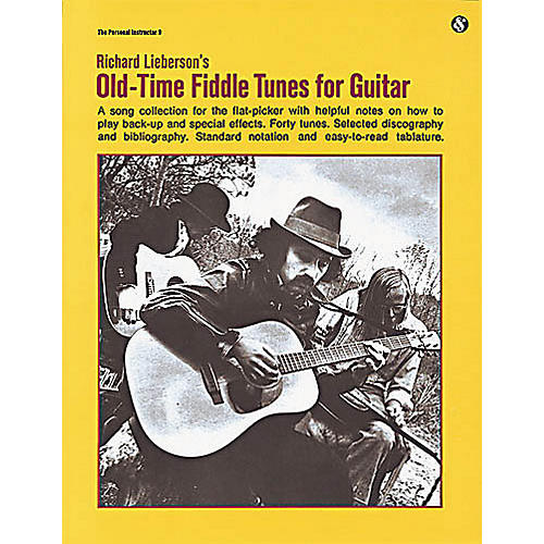 Music Sales Old-Time Fiddle Tunes for Guitar Music Sales America Series Softcover