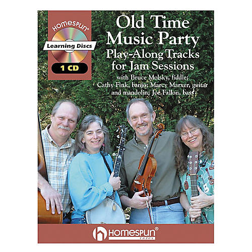 Homespun Old Time Music Party (Book/CD)