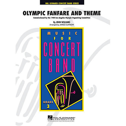 Hal Leonard Olympic Fanfare and Theme - Young Concert Band Series Level 3 arranged by James Curnow