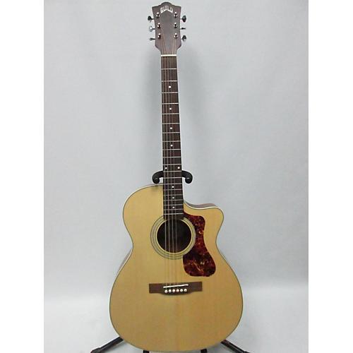 used guild om 240ce acoustic electric guitar natural guitar center. Black Bedroom Furniture Sets. Home Design Ideas