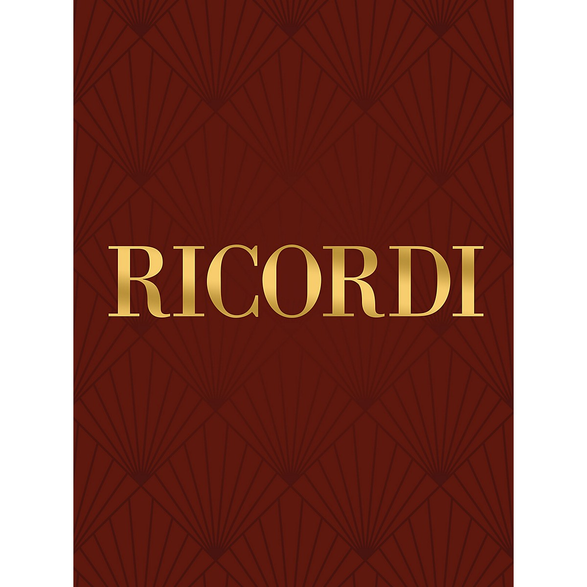 Ricordi Ombra mai fu (Voice and Piano) Vocal Solo Series Composed by George Friedrich Handel