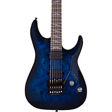Omen Elite-6 FR Electric Guitar See-Thru Blue Burst
