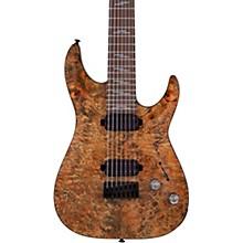 Omen Elite 7-String Electric Guitar Charcoal